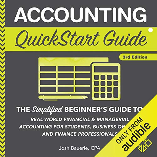Couverture de Accounting QuickStart Guide