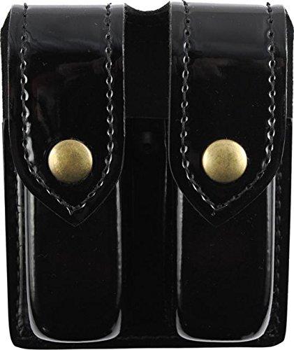 Save %11 Now! Safariland 77 Double Handgun Magazine Pouch, Hi Gloss Black, Ambidextrous - For Glock ...