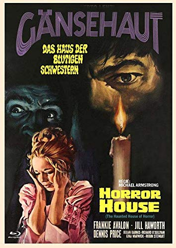 Horror House - Das Haus der blutigen Schwestern - Gänsehaut - The Haunted House of Horror - Mediabook - Cover C - Limited Edition auf 222 Exemplare - X-Rated-Eurocult-Collection #64 (+ DVD) [Blu-ray]