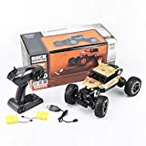 RC Car, VASLON Remote Control Monster Truck, 2.4Ghz 4WD Off Road Rock Crawler