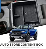 Salusy Center Console Organizer Storage Box Tray Compatible for Ford Ranger 2019 2020