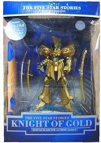 Die Five Star Stories Night of Gold-Actionfigur erste Auszeichnung Cayenne Kristallfiguren Blau