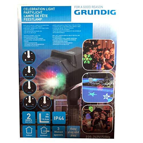 Grundig LED Projection Light met 5 Thema Patronen