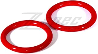 Quick Release Bumper Kit - Replacement Bands, Red Silicone, One Pair