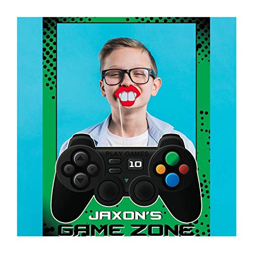 Video Game Party Supplies Photobooth, Game Controller Photo Booth Personalized Selfie Frame, Poster Frame, photo booth Frame Prop, Anime Game Party Supply Photo Booth Props handmade party supplies