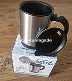 Selbstrührende Tasse mit Thermo-Funktion