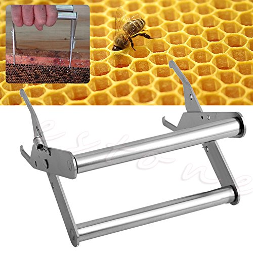 Top-sell Cadre de Bee Hive Outil Titulaire Lifter Capture Grip Apiculture Acier Inoxydable Garde