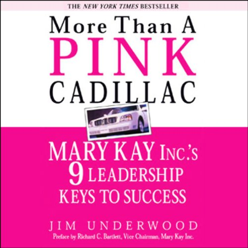 More Than a Pink Cadillac audiobook cover art