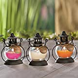 Weltbild Duftkerzen Mini-Laterne 3er-Set - Duftkerzen im Glas als Windlicht Outdoor Laternen für Draußen Frauen Geschenk Kerzen im Glas als Deko Frühling orientalische Deko Home Deko mit Duft - 2