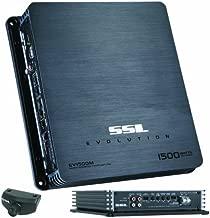 Sound Storm Laboratories EV1500M 1,500-Watt Monoblock Amplifier with High/Low Crossover Remote Subwoofer Level Control