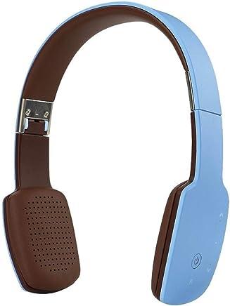 Cuffie con microfono Cuffie stereo Bluetooth 4.1 stereo senza fili Cuffie sportive con microfono HIFI pieghevole (Color : Blue) - Trova i prezzi più bassi