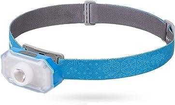 Oplaadbare koplamp, 360 lumen LED-koplamp zaklamp met bewegingssensorschakelaar, zeer geschikt voor hardlopen, wandelen, l...