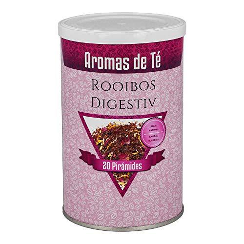 Aromas de Te - Te Rooibos Digestiv con Tila Menta Anis/Infusion Rooibos Digestivo con Calendula, 20 piramides