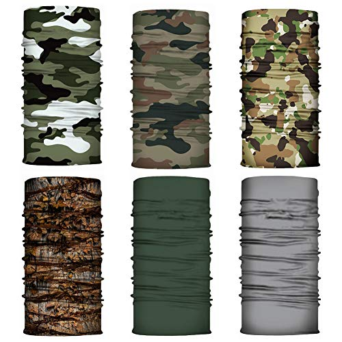 Stretch Stile Militare Headover Collo Sciarpa Tubo SHOOTING CACCIA Maschera