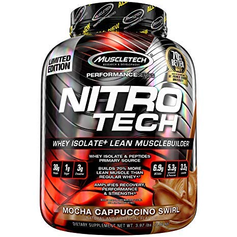 Mt Nitro Tech Performance Series 3.97lb Mocha Cappuccino