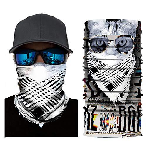 Buy Bargain jin&Co Accessories Multifunctional Novelty Magic 3D Headband Face Scarf Bandana Face S...