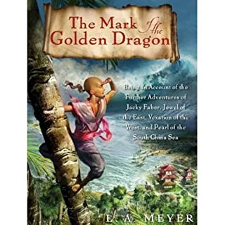 The Mark of the Golden Dragon audiobook cover art