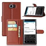 Ycloud Funda Libro para Blackberry Priv, Suave PU Leather Cuero con Flip Cover, Cierre...