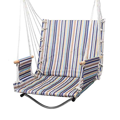 WangLx Swing chair Chaise De Dortoir D'université Fauteuil Suspendu pour 47x60cm Chaise pour Terrasse, Véranda, Patio, Terrasse, Salle De Séjour, Salon, F