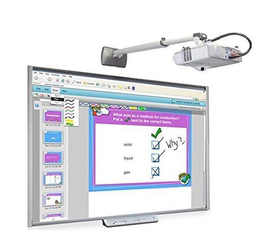 SMART Technologies SB480 77 32767 x 32767Pixeles Pantalla táctil USB Color blanco pizarra y accesorios interactivos - Accesorio pizarra interactiva (USB, 3 m, 0,5 W, 5 V, 100 mA, SMART Notebook)