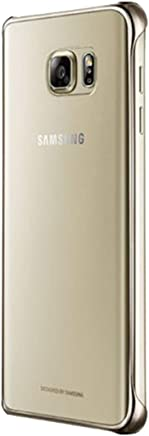 Samsung Galaxy Note 5 Clear Back Protective Cover - Gold