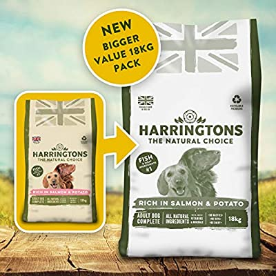 Harringtons Complete Salmon & Potato Dry Dog Food 18 kg