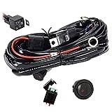 Eyourlife Faisceau Electrique avec Relais et Interrupteur pour Rampe Barre Phare Projecteur LED SUV ATV et...