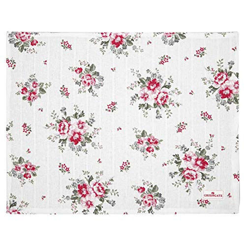 GreenGate COTPLAELO0106 Elouise Placemat White 45 x 35 cm