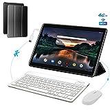 4G Tablette Tactile 10,1 Pouces, 3Go+32Go ROM/128GB Android 8.1 OTG 8500mAh Batterie - IPS Écran HD...