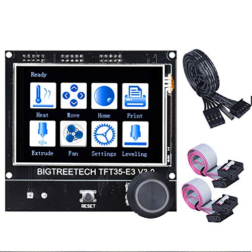 PoPprint BIGTREETECH TFT35 E3 V3.0 Touchscreen Compatible 12864LCD Display Wifi TFT35 3D printer parts for Ender 3