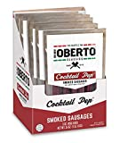 Oh Boy! Oberto Classics Cocktail Pep Smoked Sausages, 3 Ounce (Pack of 8)
