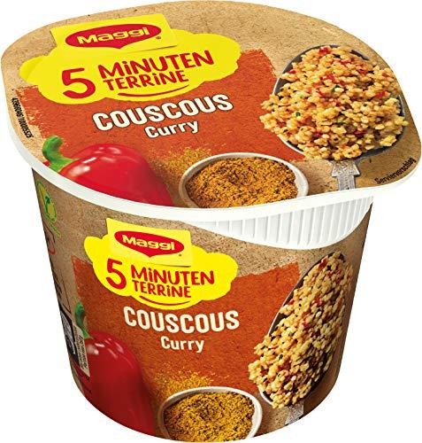 Maggi Magic Orient Couscous Curry, leckeres Fertiggericht, Instant-Nudeln, aromatisch-pikant, mit Gemüse verfeinert, 1er Pack (1 x 70g)