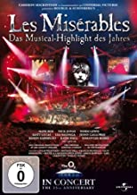 DVD LES MISERABLES - 25TH ANNIVERSARY CO