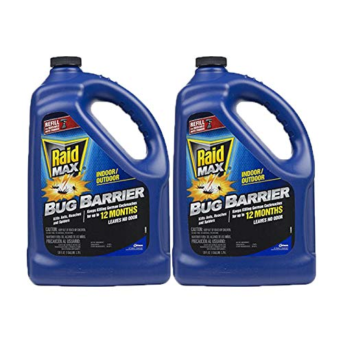 Raid Max Bug Barrier Gallon Refill, 128 OZ (Pack - 2)