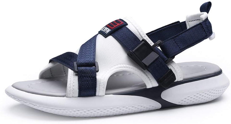Tanxianlu Summer Beach Sandals Man Sandals For Men Slide Sandals Breathable Men Casual Footwear Hard-Wearing Flats shoes