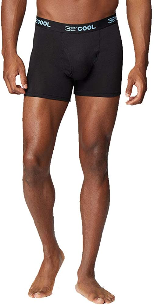 32 DEGREES Mens Cool Quick Dry Active Fitted Stretch Boxer Brief