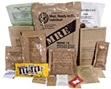 Ships as USPS Priority Mail (US Locations) Loaded with Nutrients and Calories Perfect for Hiking, Camping, and Emergencies Genuine Military MRE Rations Fresh Inspection Dates of September 2017 or newer with Long Shelf Life