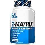 6. Evlution Nutrition Z Matrix Nighttime Recovery and Sleep Support (60 Servings)