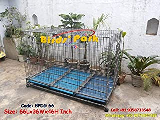 Dog Crate - 5 feet Long - Largest Strong Dog Cage for All Large Breed Dog