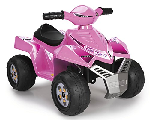 FEBER - Quad Racy 6 V, Color Rosa (Famosa 800011422)