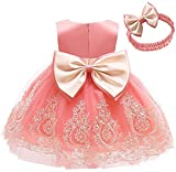 AVAZU 0-6T Easter Big Bowknot Pageant Lace...