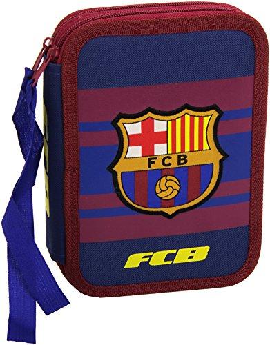 Futbol Club Barcelona - Plumier 2 pisos pequeño (CYP Imports EP-661-BC)
