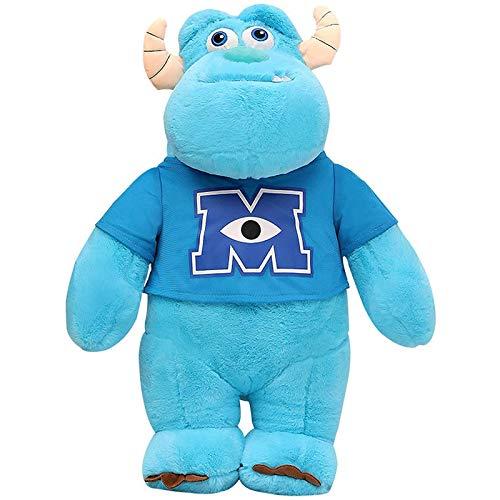 LDDZAU El muñeco Monstruo de Pelo Azul, el muñeco de Peluche de Ojos Grandes Sally, el Monstruo de Pelo, es un Regalo de Celebridad para los niños y Las Amigas