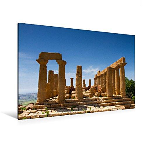 Lienzo de gran calidad, 120 x 80 cm, horizontal, diseño de Juno Tempo, cuadro sobre bastidor, lienzo auténtico, impresión sobre lienzo: Agrigent, Sizilien, Italia (CALVENDO Orte);Calvendo Orte