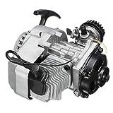 Moto Motor 2 tiempos de 49 cc comienzo del tirón del motor del motor for Pocket Mini Dirt Bike ATV Scooter Ciclo de gasolina kit de motor de gas