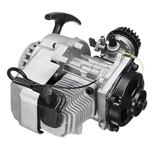 Motorrad Motorteile 2-Takt 49ccm Motor starten Motor Gezogen for Pocket Mini Dirt Bike ATV Scooter