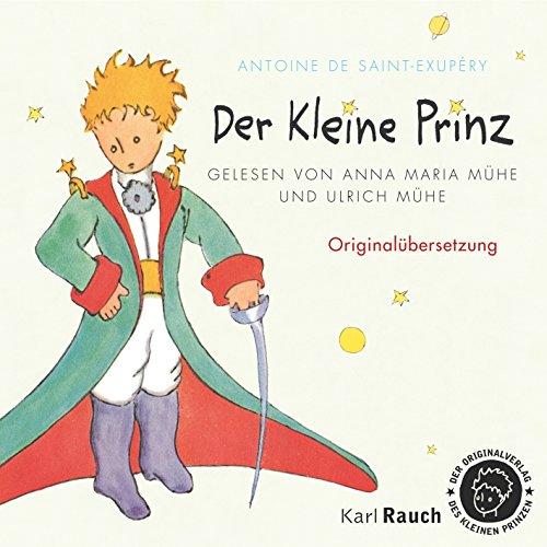Couverture de Der Kleine Prinz: Originalübersetzung