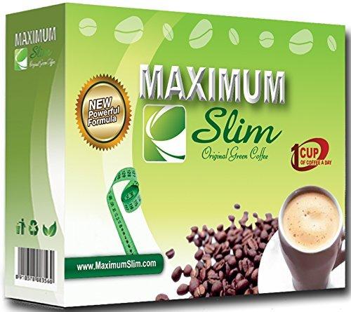 Premium Organic Green Coffee - Maximum Formula, Maximum Results, & Maximum Taste - 12 ct