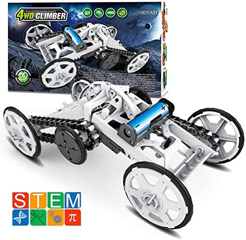 ORIVAST Science Kits for Kids 4WD Climbing Vehicle STEM Kit Electronics Circuits Engineering product image