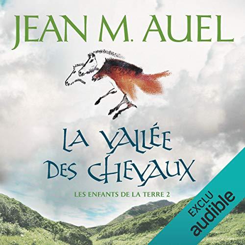 La vallée des chevaux audiobook cover art